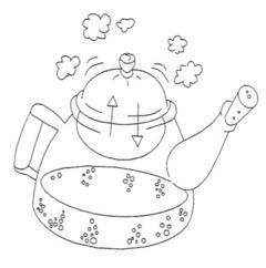 Jiggly Steam Engine